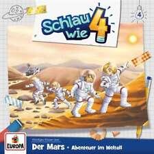 CD * SCHLAU WIE VIER - HSP 04 - DER MARS : ABENTEUER IM WELTALL # NEU OVP =