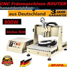 4 Axis 3040 CNC Router Engraver Engraving Grabador Perforación Fresadoras 800w