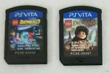 PSVITA - Lot of 2 Games - LEGO Batman 3 & LEGO Lord of the Rings