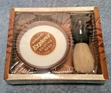NIP New Bodynature EXPLORER Shaving Soap In Bowl With Brush 2 Piece Shave Set