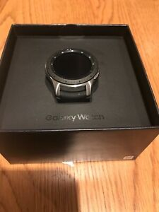Samsung Galaxy SM-R805F 46mm Black Smart Watch SM-R805FZSABTU A1 Condition UK