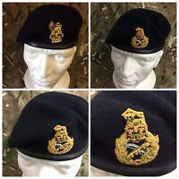 Staff Officers Berets Airbourne Navy & Khaki Brigadier Colonel & Generals Beret
