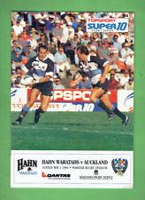 #Bb. Rugby Union Program 1994 - Waratahs vs Auckland