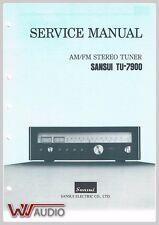 Sansui TU-7900 am/fm Tuner Service Anleitung Service Manual