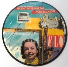 """NM/NM Electric Light Orchestra ELO Secret Messages Picture Disc 7"""" Vinyl 45"""