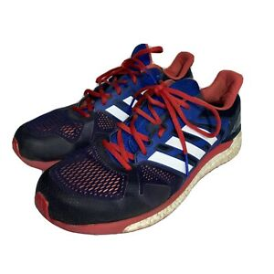Adidas Boost Supernova ST CG2702 Blue/Red Sneaker US Men's Size 12.5
