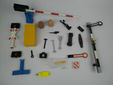 Playmobil parts, RC train, tracks, crossing, rail, 4383, 4017, 6310, 4394 ect