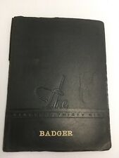1939 Lampasas Texas High School Badgers Annual Yearbook Artistic Works