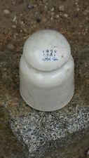7,50 €/ ST.VECCHIO potenza ceramica porcellana ISOLATORI 2 pezzi RARE Figurine (