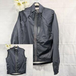 Cannondale Size Medium Black Morphis Cycling Convertible Jacket/Vest
