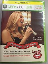 NEW Xbox 360 Colbie Caillat Number One Hits Expansion 3-Songs Lips Little Things