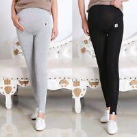 Adjustable Women High Waist Pants Pregnant Elastic Oversized Maternity Leggings