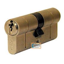 35/40 BRASS Anti Snap Pick Bump Drill British Standard Euro Cylinder Door Lock