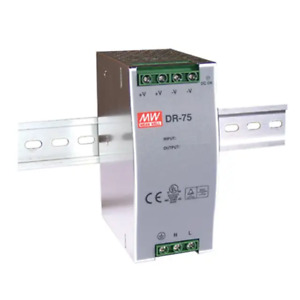 Meanwell DR-75-24 Power Supply 24V 75W On Guide din