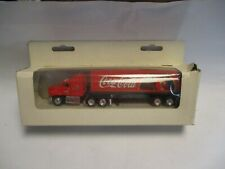 "Matchbox Convoy CY29 Mack Box Truck- red ""Coca Cola"" Santa Claus, rubber tires"