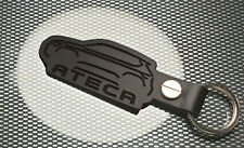 SEAT CUPRA ATECA Keyring CAR Keychain Leather Leon Fr TSI DSG Turbo black