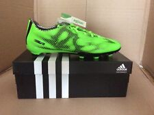 Men's Adidas F10 FG Football Boots. Green/Black. Size 10 . Brand New
