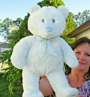 LARGE AmeriChoice Baby Blue My First Teddy Bear SOFT Plush Stuffed Animal Doll