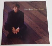 Elton John: Love Songs - 1996 CD - Your Song/Can You Feel The Love - 15 Tracks