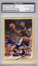 Nick Van Exel Cincinnati Bearcats Lakers 1993 Classic Signed AUTOGRAPH PSA DNA