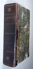 T. LIVIUS: HISTORIAE, LIBRI I-XX, Ed. TRANÉR, Uppsala 1820, Latein