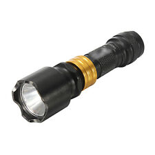 Mini CREE Q5 LED Flashlight Torch Waterproof Aluminum Camping Hiking Lamp Light