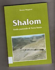 shalom - guida pastorale di terra santa - francesco maggioni - 1993