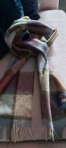 Laura Ashley Yorkshire Tweed Wool Scarf