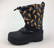Northside Frosty Winter Boots - Kids Size 2, Black/Orange 1205