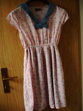Sommerkleid von Yumi , rosa mit Matrosenkragen und Schleife, Mini, Größe L
