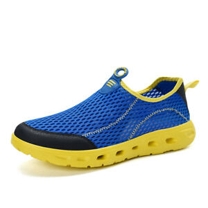 Mens Outdoor Walking Running Sports Sneakers Water Athletic Shoes CasuaL Fitness