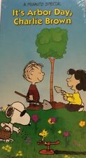 IT'S ARBOR DAY, CHARLIE BROWN(VHS,1995)RARE VINTAGE COLLECTIBLE-SHIPS N 24 HOURS
