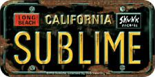 "Sublime - License Plate Logo Sticker - 2.5"" x 5"""