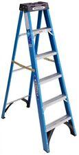 Werner 6-ft Fiberglass 250-lb Type I Step Ladder