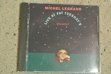 Rare Michel Legrand Japan CD - Live at Fat Tuesday's (OBI)