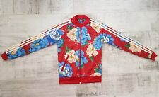 Adidas floral jacket size UK 6