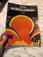 Wurlitzer Orbit Series Continental Standards Hal Leonard Sheet Music Book Organ