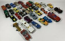 Various Brands Vintage Lot of 34 Cars / Trucks Diecast Loose