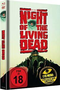 Night of the Living Dead - Cover C - Blu Ray - Mediabook Savini Remake