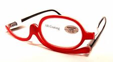 READING Ladies MAKE UP Optical EYE GLASSES Women EYE CANDY Readers +2.50 Red
