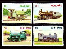 Malawi 1987 ** Mi.481/84 Eisenbahn Railway Locomotive Zug Train Engine [sq3061]