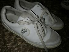 Versace collection white trainers size 39