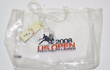 Polo Ralph Lauren US Open 2008 Clear PVC Tote