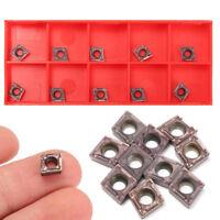 10 stück CCMT060204VP15TF Wendeplatten Klinge fürSCLCR Drehwerkzeughalter L ML