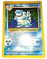 Pokemon Card - Blastoise - (2/102) Base Set Rare Holo ***EXC***