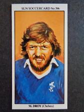 The Sun Soccercards 1978-79 - Micky Droy - Chelsea #396