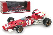 Brumm R444B Ferrari 312 F1 #28 Belgian GP 1970 - Ignazio Giunti 1/43 Scale