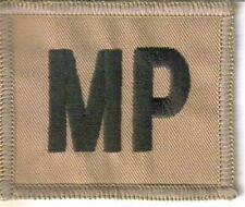 ROYAL MILITARY POLICE Early DESERT  MP PATCH