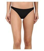Prana Kala 126315 Womens Hipster Bikini Bottom Swimwear Black Size XS