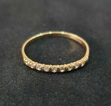 Wedding Ring Gold 18K with Diamonds